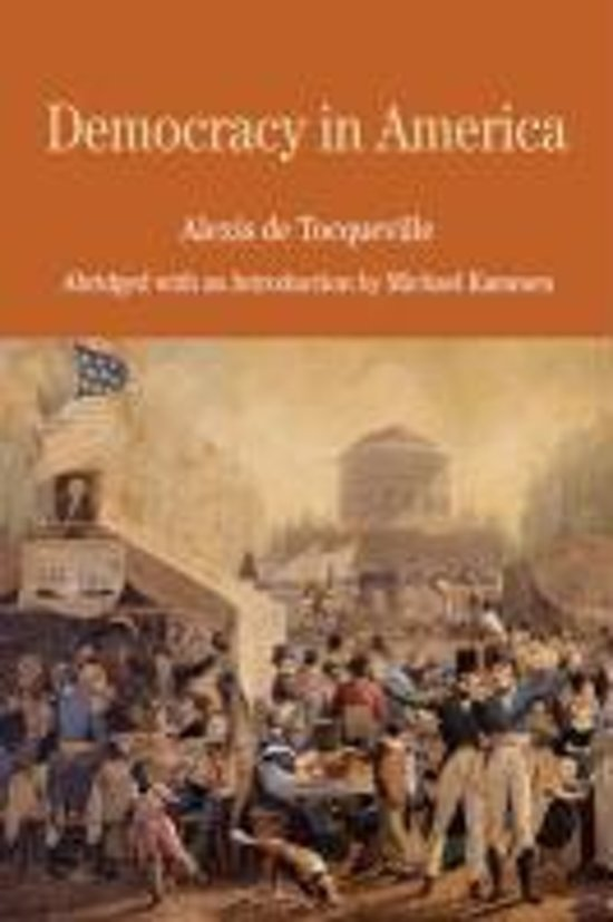 tocqueville's democracy in america For alexis de tocqueville, american democracy's passion for equality was a potentially fatal flaw—one that religion could help address but what happens when religion also becomes preoccupied with equality.