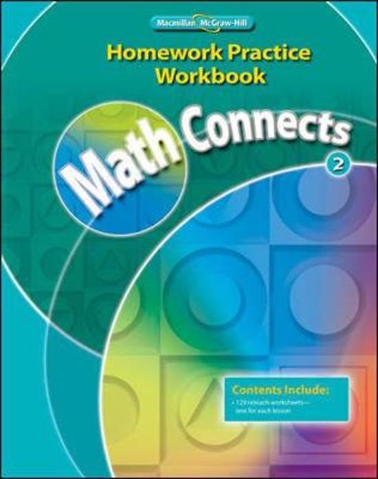 math connects 5th grade homework practice workbook