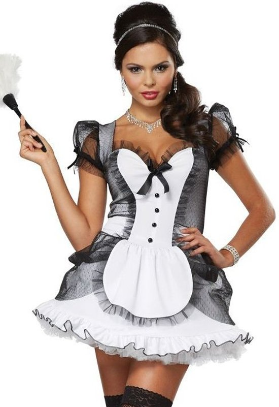 California Costumes Luxe French Maid-2XL in Zoutleeuw