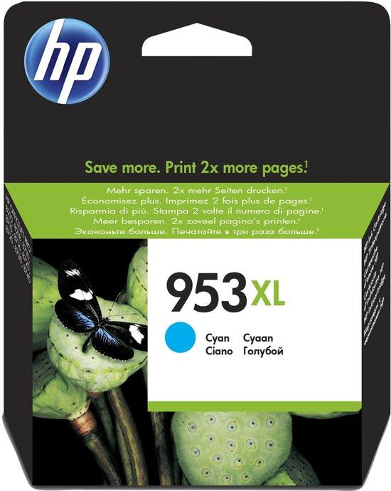 HP 953 XL - Inktcartridge / Cyaan (F6U16AE)