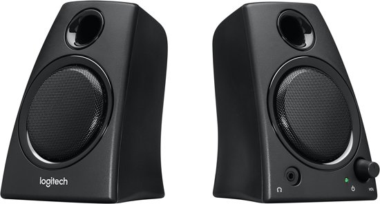 how to connect logitech z130 speakers to computer