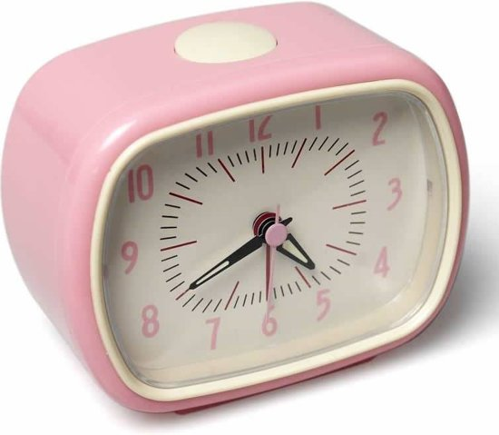 Bol Com Rexinter Wekker Roze Vintage Wekker Roze Vintage