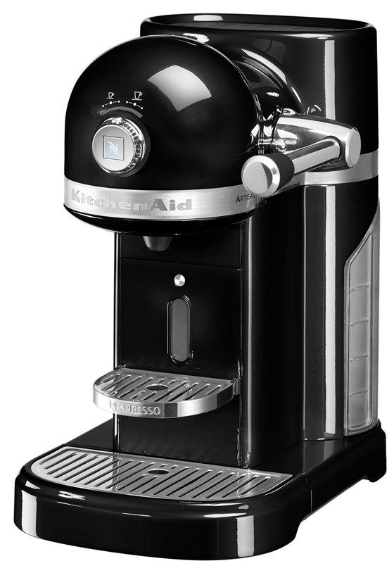 nespresso kitchenaid artisan 5kes0503eob 3 koffiemachine onyx black. Black Bedroom Furniture Sets. Home Design Ideas