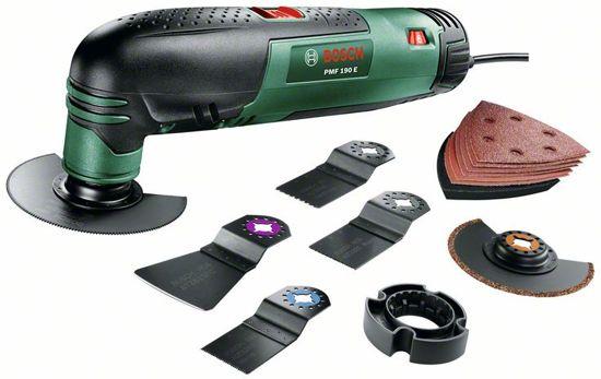 Bosch PMF 190 E Multitoolset - Oscillerend - 190 Watt - Inclusief uitgebreide accessoireset en koffer