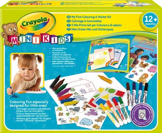 Crayola Mini Kids - Kleur en sticker set in West-Graftdijk