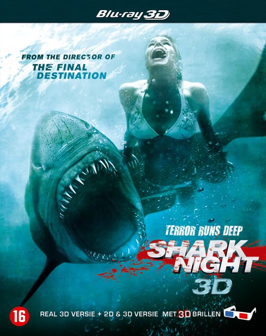Shark Night (3D+2D Blu-ray)