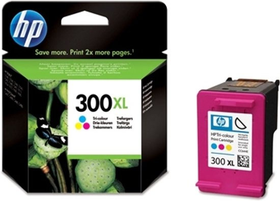 HP 300XL Tri-color Ink Cartridge
