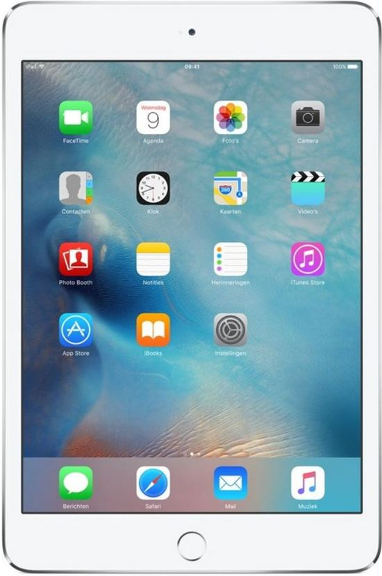 Apple iPad mini 4 - Wi-Fi - 32GB - Zilver
