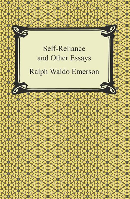 emerson self reliance and other essays