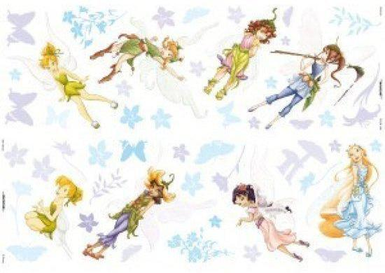 Muurstickers Disney Fairies