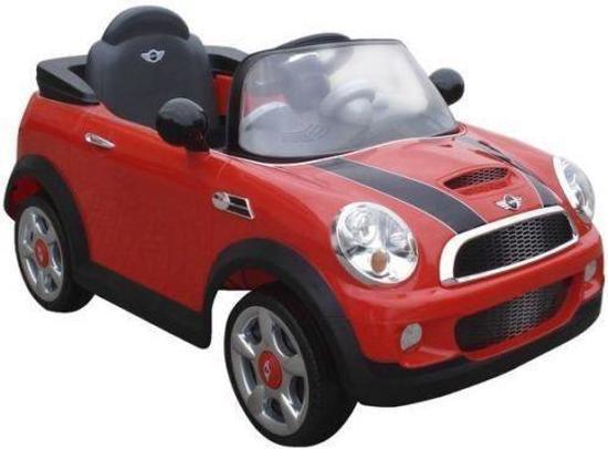 mini cooper elektrische auto rood. Black Bedroom Furniture Sets. Home Design Ideas