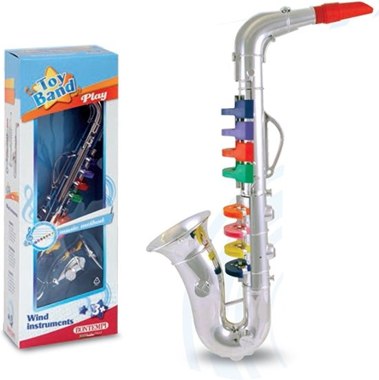 Saxofoon 8 Toetsen in Laaghalen