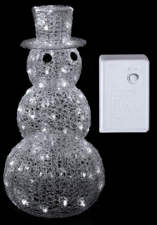 Verlichting sneeuwman 120 lichtjes for Bol com verlichting