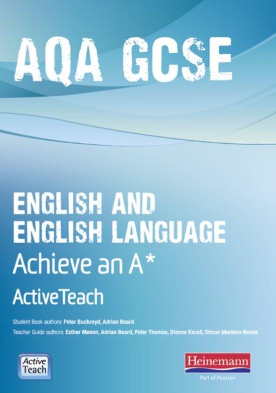 aqa gcse english coursework original writing