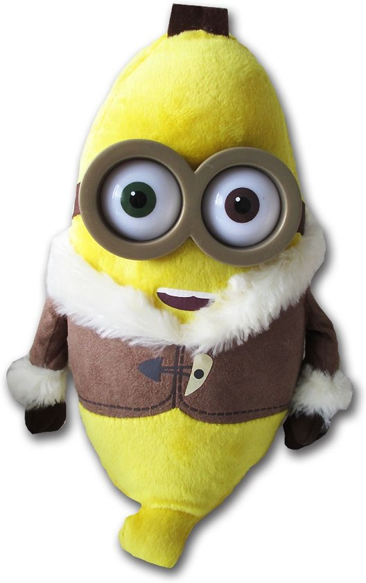 bol.com  Pluche Minion knuffel Bob als banaan 28cm ...