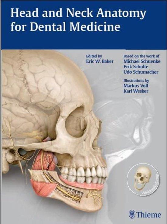 Anatomy for dentistry