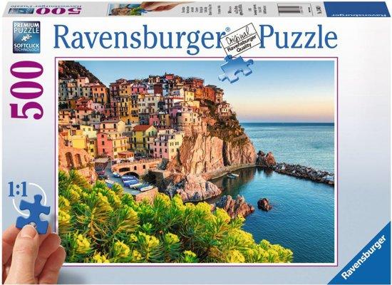 Ravensburger Kleurrijk Italie - Puzzel van 500 stukjes in Heiligerlee