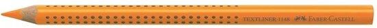 tekstmarker Faber Castell 1148 Jumbo GRIP Neon oranje in Berkel-Enschot