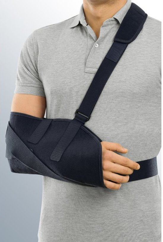 how to put on an arm sling video