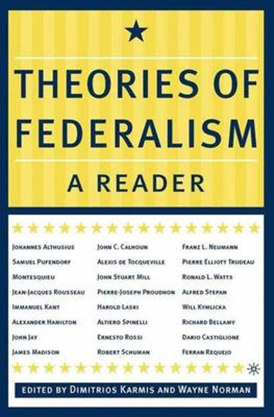 Constitutional Underpinnings & Federalism B) SEPARATION OF POWERS ...