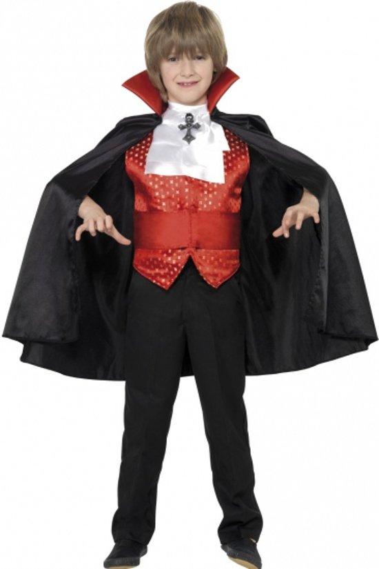 Halloween Dracula kinder kostuum 4 delig 10-12 jaar in Haneburen