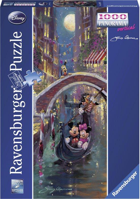 Ravensburger Disney Mickey Mouse Disney in Venetië (James Coleman) - Panorama puzzel van 1000 stukjes in De Panne