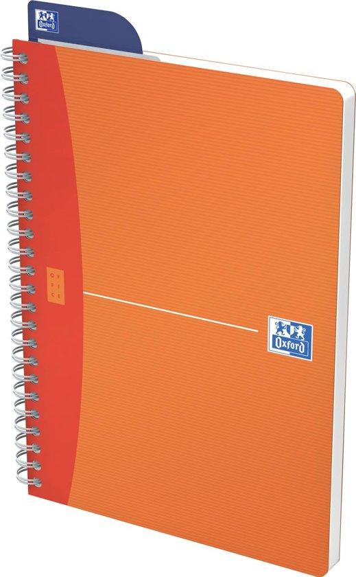Oxford OFFICE MyColour spiraalblok 180 bladzijden formaat A5 gelijnd