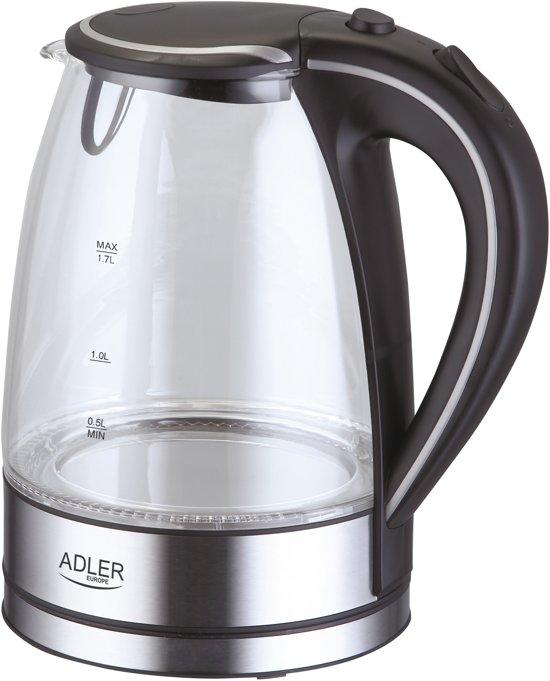 Adler ad 1225 waterkoker 1 7 ltr met led for Waterkoker led verlichting