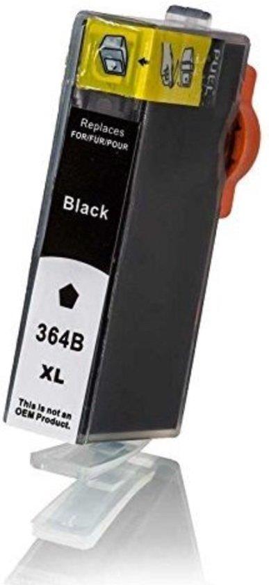 HP 364 (CB316EE) - Inktcartridge / Zwart (huismerk)