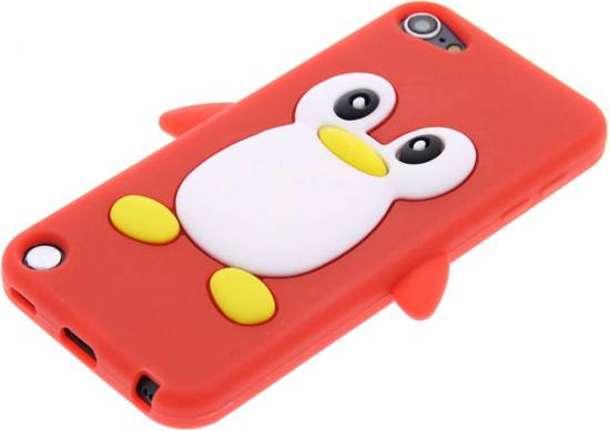 Rode Keukenapparaten : bol.com Rode pinguin siliconen hoesje – iPod Touch 5G Elektronica