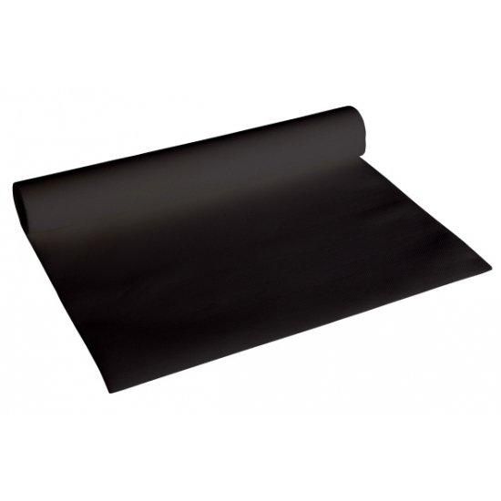 Luxe zwarte kleur tafelloper in Orp-le-Grand