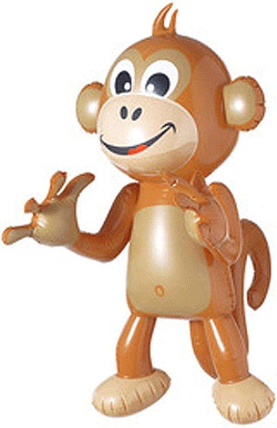 Opblaasbaar aapje in Herwijnen