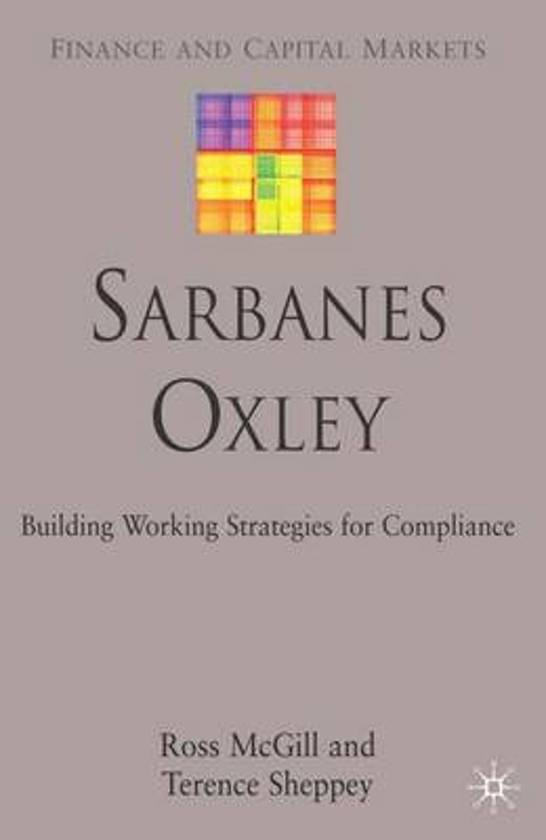Sarbanes-Oxley Code of Conduct Requirements