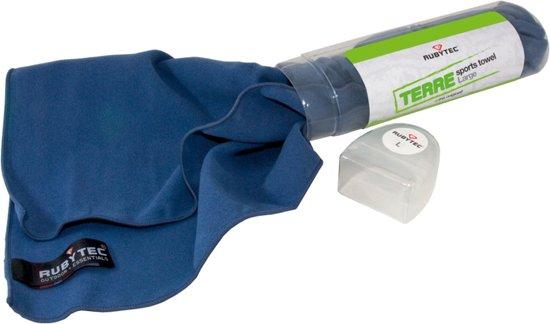 RubyTec - Terre Sports Towel - Reishanddoek - Large - Groen in Pothoek