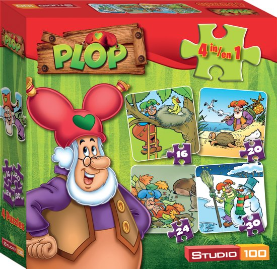 Plop 4-In-1 - Puzzel in Leisele