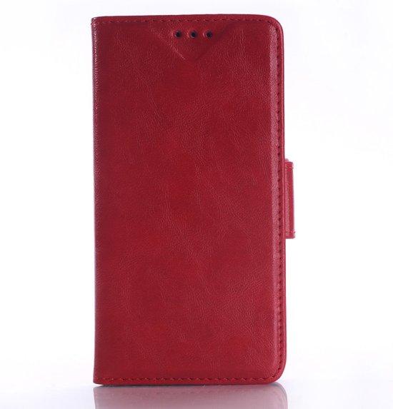 Youngsters book case hoesje met ruimte voor 2 pasjes en briefgeld bureaustand - Kleur rood ruimte ...