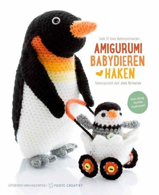 Amigurumi Haken : bol.com Amigurumi Babydieren haken 9789462501072 Boeken