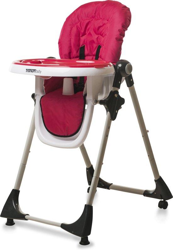 Titaniumbaby - Kinderstoel de Luxe - Fuchsia