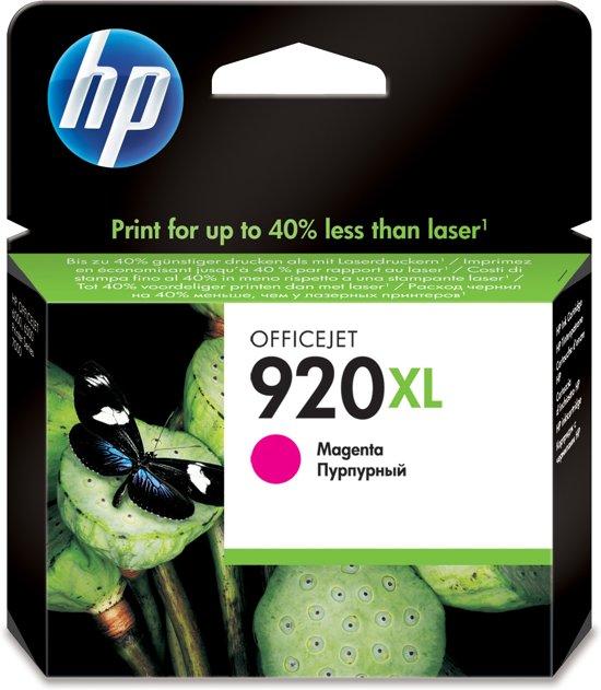 HP 920XL - Inktcartridge / Magenta / Hoge Capaciteit (CD973AE)