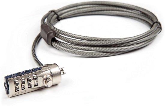 Targus Defcon Cable Lock PA410E - Beveiligingskabel