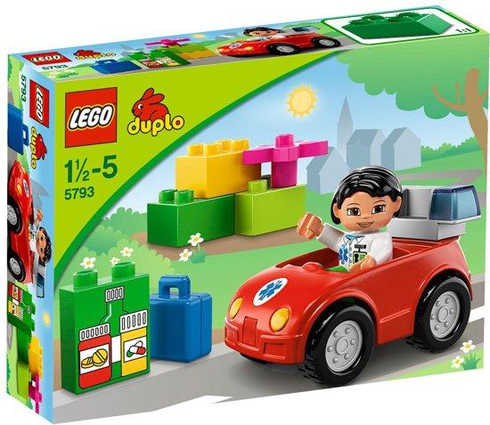 LEGO DUPLO Verpleegstersauto - 5793 in Eursinge