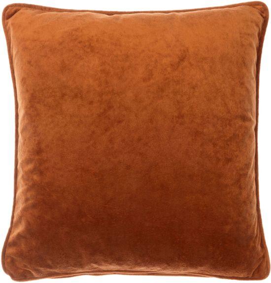 bol.com : Dutch Decor Velvet - Sierkussen - Cognac - 45x45 cm : Wonen
