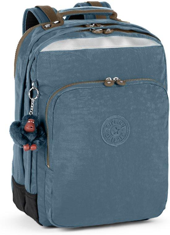 Kipling College - Laptop Rugzak - Blue Jean C in Oostwinkel