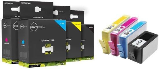 inktmedia inktcartridge alternatief voor hp 920xl multipack zwart kleur 4 cartridges. Black Bedroom Furniture Sets. Home Design Ideas