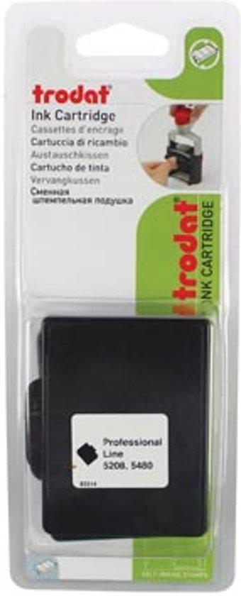 Trodat vervangkussen zwart voor stempel 4208/5208 in Asselt