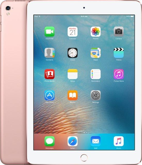 Apple iPad Pro - 9.7 inch - 128 GB - WiFi - Roségoud - Tablet