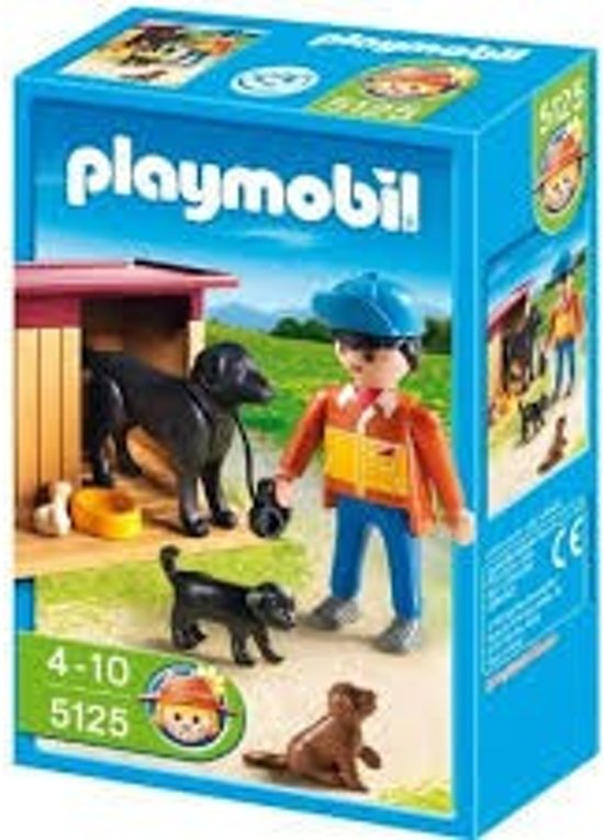Playmobil Hond Met Puppies - 5125 in Merksplas