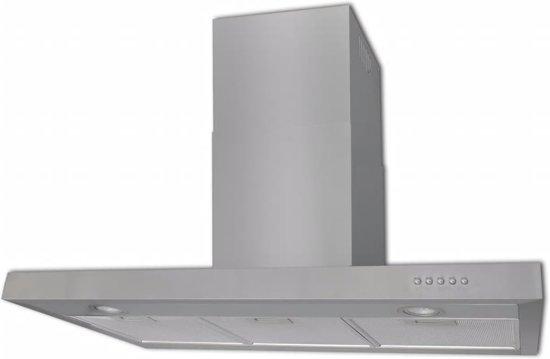 Raamdecoratie Keuken Vet : bol.com Platte afzuigkap van roestvrijstaal 900 mm Elektronica
