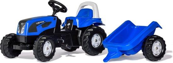 Rolly Toys rollyKid Landini Power Farm - Traptractor met Aanhanger in Barlaque