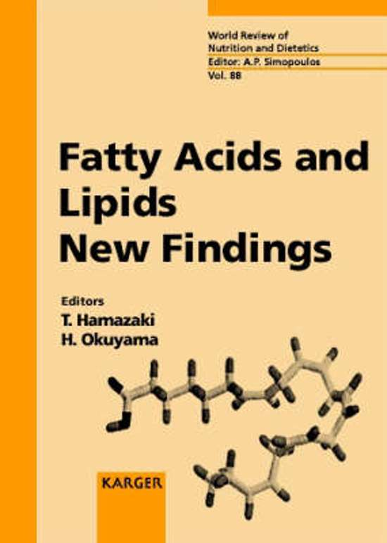 fatty acid and essay lipids Overview of lipids, covering fats and oils, saturated and unsaturated fats, triglycerides (triacylglycerols) a glycerol backbone and three fatty acid tails.